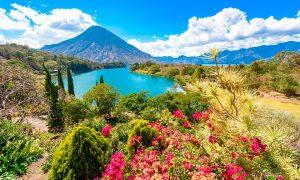 vista panoramica de Guatemala